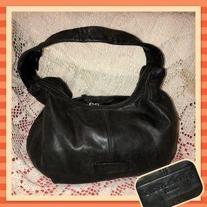 Liebeskind Black Leather Hobo Bag USED